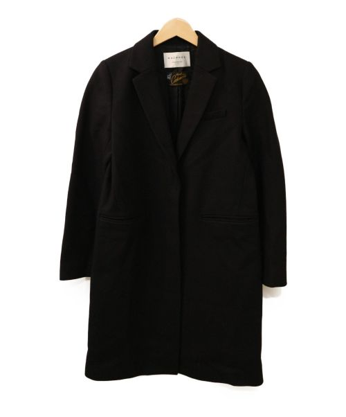 MACPHEE × TOMORROWLAND(マカフィー×トゥモローランド)MACPHEE × TOMORROWLAND (マカフィー×トゥモローランド) 比翼チェスターコート ネイビー サイズ:38の古着・服飾アイテム