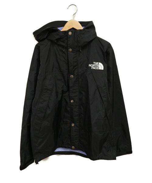 THE NORTH FACE(ザ ノース フェイス)THE NORTH FACE (ザノースフェイス) マウンテンレインテックスジャケット ブラック サイズ:XLの古着・服飾アイテム