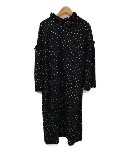 49AV junko shimada(ジュンコシマダ)49AV junko shimada (ジュンコシマダ) ブラウスワンピース ネイビー サイズ:40の古着・服飾アイテム