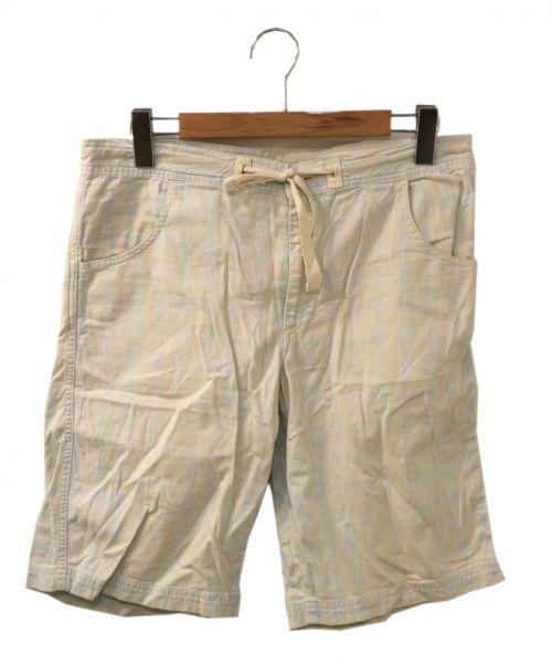 Porter Classic(ポータークラシック)Porter Classic (ポータークラシック) ハーフパンツ ホワイト サイズ:Sの古着・服飾アイテム