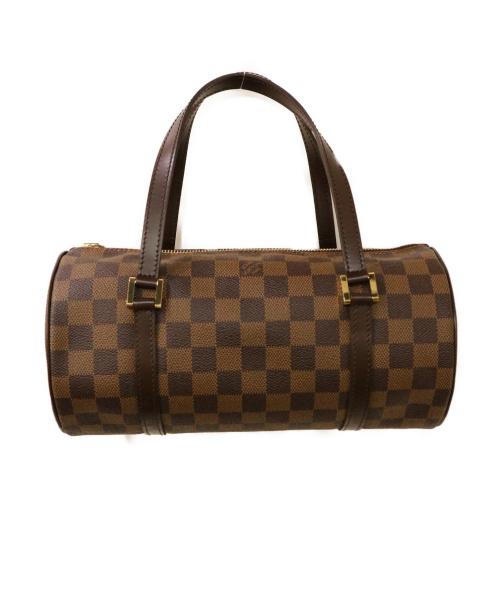 LOUIS VUITTON(ルイ ヴィトン)LOUIS VUITTON (ルイヴィトン) パピヨン ブラウン ハンドバッグ ダミエ N51304 DU0085の古着・服飾アイテム