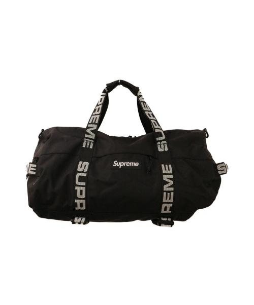 SUPREME(シュプリーム)Supreme (シュプリーム) ボストンバッグ ブラックの古着・服飾アイテム