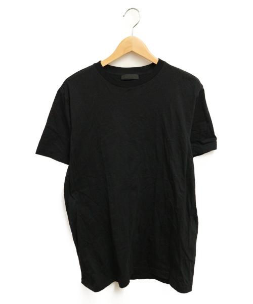 PRADA(プラダ)PRADA (プラダ) 半袖カットソー ブラック サイズ:Lの古着・服飾アイテム