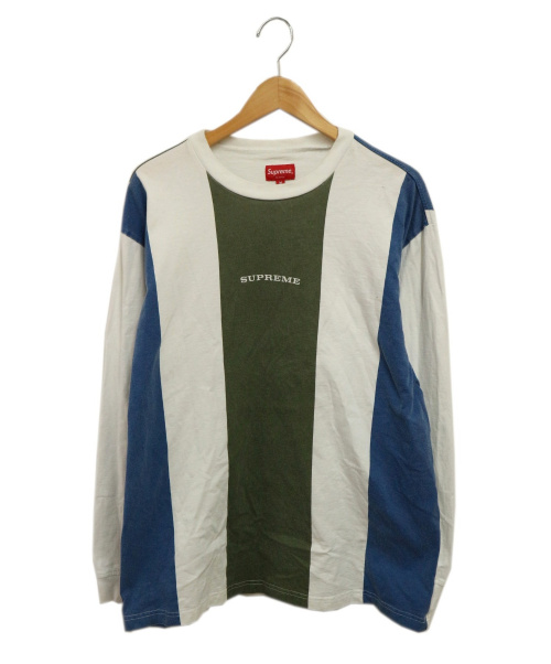 SUPREME(シュプリーム)Supreme (シュプリーム) Global Standard L/S Top White ホワイト サイズ:Mの古着・服飾アイテム