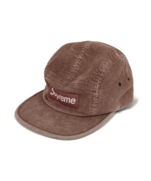SUPREME(シュプリーム)Supreme (シュプリーム) キャンプキャップ ピンクの古着・服飾アイテム