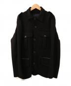 UMIT BENAN(ウミットベナン)の古着「ウールCPOジャケット」|ブラック