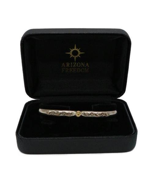 ARIZONA FREEDOM(アリゾナ フリーダム)ARIZONA FREEDOM (アリゾナフリーダム) シルバーバングル SILVER925/K18の古着・服飾アイテム