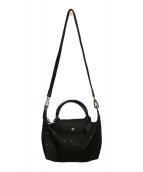 LONGCHAMP(ロンシャン)の古着「2WAYバッグ」|ブラック