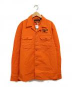 DEUS EX MACHINA(デウス エクス マキナ)の古着「シャツジャケット」|イエロー