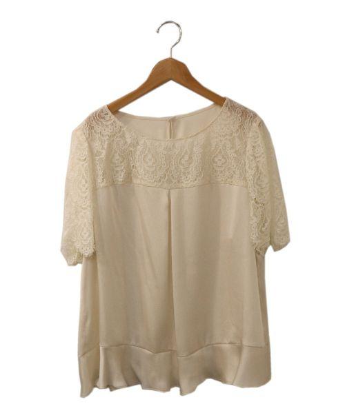 TO BE CHIC(トゥービーチック)TO BE CHIC (トゥービーチック) ブラウス ホワイト サイズ:46の古着・服飾アイテム