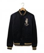 Rugby Ralph Lauren()の古着「スタジャン」 ネイビー