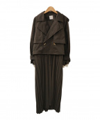 AMERI()の古着「3WAY SHEER DOCKING COAT」|グレー