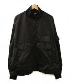 flagstuff(フラグスタフ)の古着「デザインポケットジャケット」|ブラック