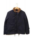 KAPTAIN SUNSHINE(キャプテンサンシャイン)の古着「N-1デッキジャケット」|ネイビー