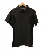 DESCENTE(デサント)の古着「g-arcショートスリーブシャツ」 グレー