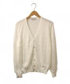 GRAN SASSO(グランサッソ)の古着「カーディガン」|ホワイト