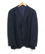 BEAMS F(ビームスエフ)の古着「ウールテーラードジャケット」|ネイビー