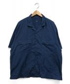 ()の古着「ケルアックシャツ」|ネイビー