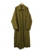 TOKUKO1erVOL(トクコプルミエヴォル)の古着「ロングコート」 グリーン
