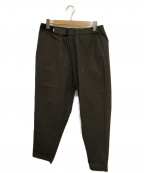 Graphpaper()の古着「STRETCH TYPEWRITER COOK PANTS」 グレー