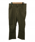 nonnative(ノンネイティブ)の古着「DWELLER 5P JEANS FLARED FIT」|グリーン