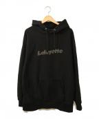 Lafayette(ラファイエット)の古着「Cotton Hooded Sweatshirt」|ブラック