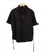 CRAIG GREEN(クレイグ グリーン)の古着「レースデザインシャツ」|ブラック