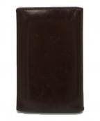 ETTINGER(エッティンガー)の古着「カードケース」|ブラウン