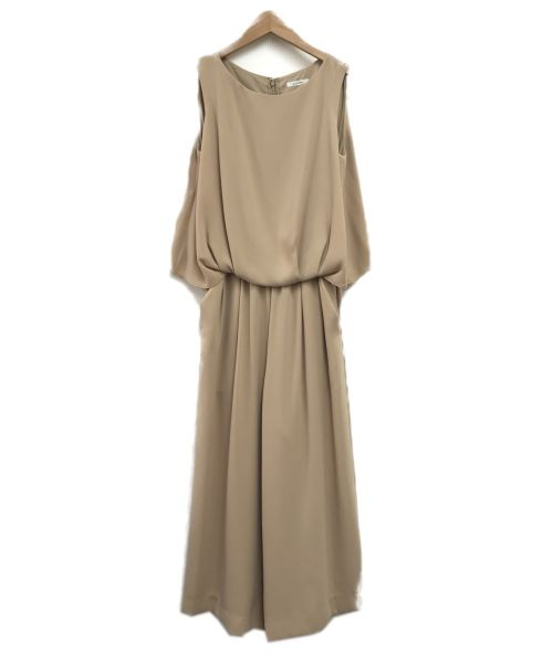ELFORBR(エルフォーブル)ELFORBR (エルフォーブル) オールインワン ベージュ サイズ:SIZE36 未使用品の古着・服飾アイテム
