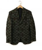 THE GIGI(ザ・ジジ)の古着「テーラードジャケット」|グリーン