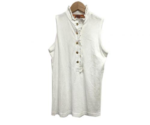 TORY BURCH(トリーバーチ)TORY BURCH (トリーバーチ) ノースリーブブラウス ホワイト サイズ:Sの古着・服飾アイテム