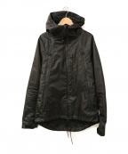 narifuri(ナリフリ)の古着「2レイヤーマウンテンパーカ」 ブラック