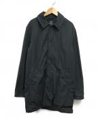 save khaki united(セーブカーキユナイテッド)の古着「FLEECE LINED TRENCH コート」|ブラック