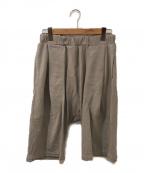 WILLY CHAVARRIA(ウィリーチャバリア)の古着「サルエルショートパンツ」 グレー
