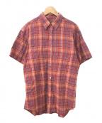Christian Dior MONSIEUR(クリスチャンディオールムッシュ)の古着「チェックシャツ」|レッド