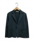 Cruciani(クルチアーニ)の古着「2Bコットンミラノリブジャケット」|グリーン
