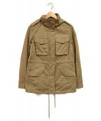 ()の古着「M65ジャケット」|ベージュ