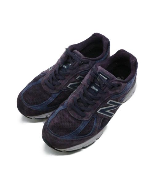 NEW BALANCE(ニューバランス)NEW BALANCE (ニューバランス) スニーカー パープル サイズ:28cm M990EP4の古着・服飾アイテム