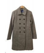 ()の古着「ウールコート」|グレー