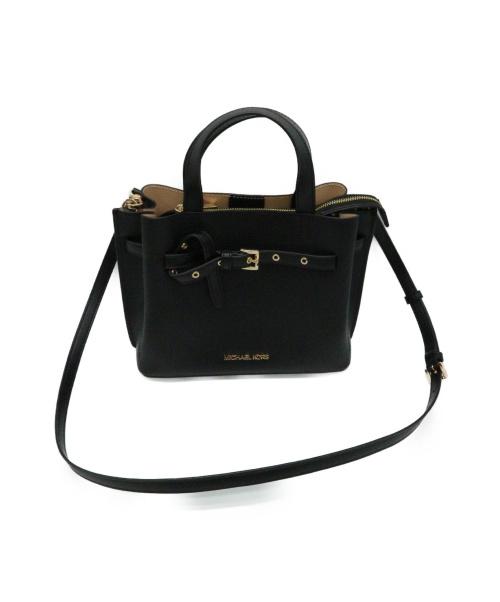 MICHAEL KORS(マイケルコース)MICHAEL KORS (マイケルコース) 2WAYバッグ ブラック EMILIA 35F0GU5S5tの古着・服飾アイテム