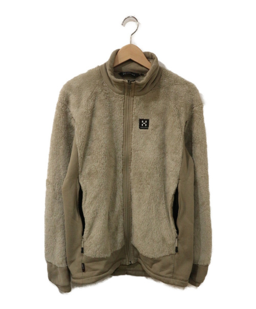 HAGLOFS(ホグロフス)HAGLOFS (ホグロフス) ハスキージャケット ベージュ サイズ:Mの古着・服飾アイテム