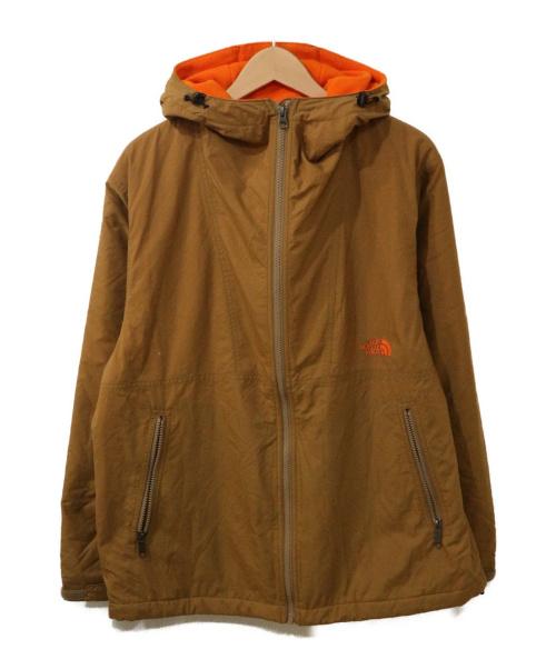 THE NORTH FACE(ザ ノース フェイス)THE NORTH FACE (ザ ノース フェイス) compact nomad jacket ベージュ×オレンジ サイズ:Mの古着・服飾アイテム
