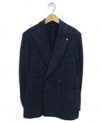 L.B.M.1911(ルビアム1911)の古着「ダブルブレストジャケット」|ネイビー