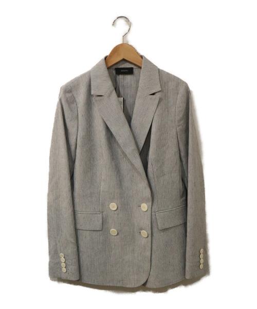JOSEPH(ジョゼフ)JOSEPH (ジョゼフ) ダブルジャケット グレー サイズ:36 未使用品の古着・服飾アイテム