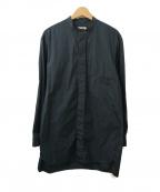 LEMAIRE()の古着「カラーレスワークシャツ」 グリーン
