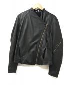 HELMUT LANG(ヘルムートラング)の古着「ライダースジャケット」 ブラック