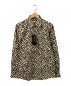 INTERMEZZO(インターメッツォ)の古着「総柄シャツ」|オリーブ