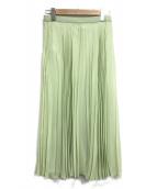 Maison Margiela(メゾンマルジェラ)の古着「プリーツスカート」|ミント