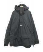 NIKE ACG(ナイキエージーシー)の古着「プルオーバージャケット」|ブラック