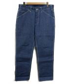 ()の古着「painter pants」 インディゴ